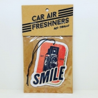 CLASSIC CAR AIR FRESHENER : MUSIC MAKES ME SMILE