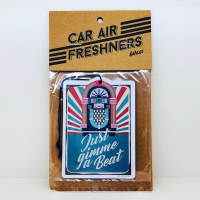 CLASSIC CAR AIR FRESHENER : JUST GIMME A BEAT