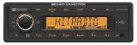 BECKER GRAND PRIX  INSPIRED TR7412UBOR BLUETOOTH 1-DIN CAR RADIO